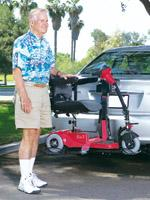 bruno Micro Mini 225 wheelchair scooter lift