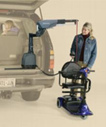 Bruno Curbsider 6900 6000 wheelchair scooter lift